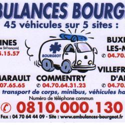 ambulance Bourgeot